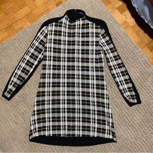 French Connection Plaid Dress